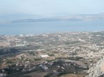 View to north from Acrocorinth.