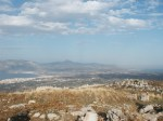 View of Corinthian Isthmus from Acrocorinth
