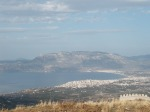 View of New Corinth and the Geranian Mountains