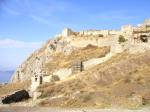Acrocorinth fortifications at southwest entrance