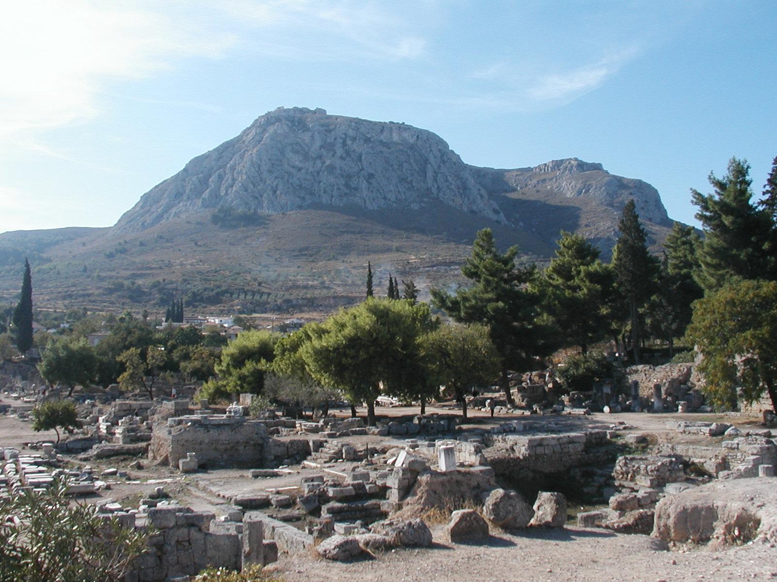 Acrocorinth  Corinthian Matters