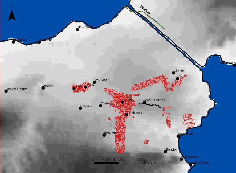 Maps of the Corinthia Corinthian Matters