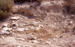 Roman building debris at LOCA 9070