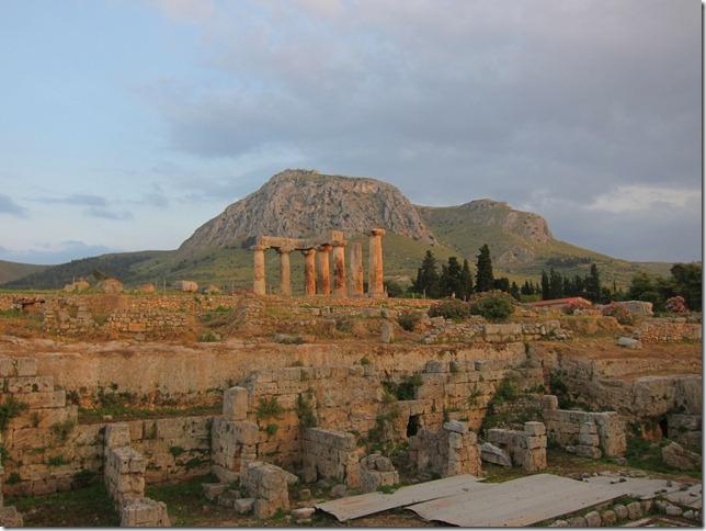 Corinth at Dusk