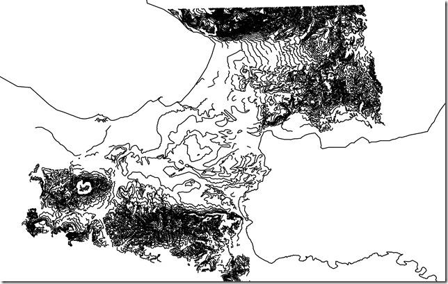 Topographic Korinthia