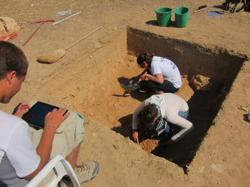 Pyla-Koutsopetria Archaeological Project, Cyprus, June 1, 2012. Photo by David Pettegrew