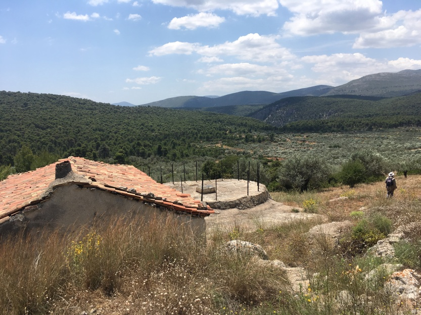 Photograph of the settlement of Lakka Skoutara in southern Corinthia,